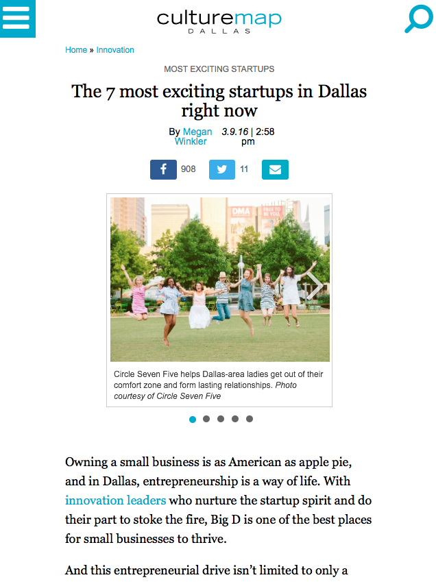 Culturemap | The 7 most exciting startups in Dallas right now