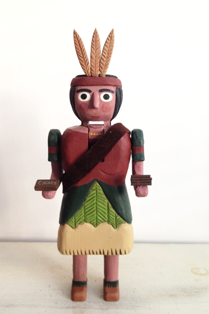 Cigar Store Indian  : To add this piece  to your collection, you can email us through the contact page.