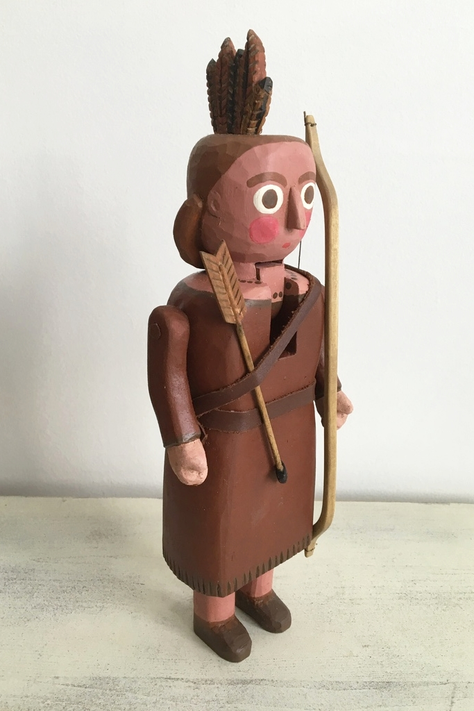 Woodland Indian  : To add this piece  to your collection, you can email us through the contact page.