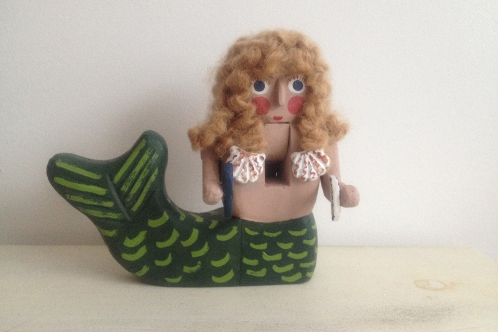 Mermaid  : To add this piece  to your collection, you can email us through the contact page.