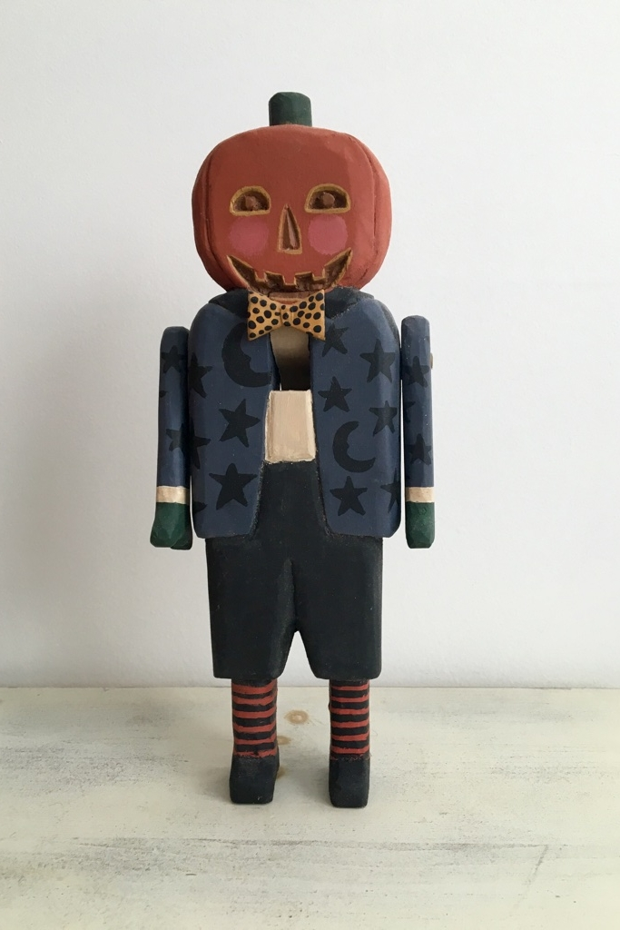 Midnight Pumpkin Man  : To add this piece  to your collection, you can email us through the contact page.