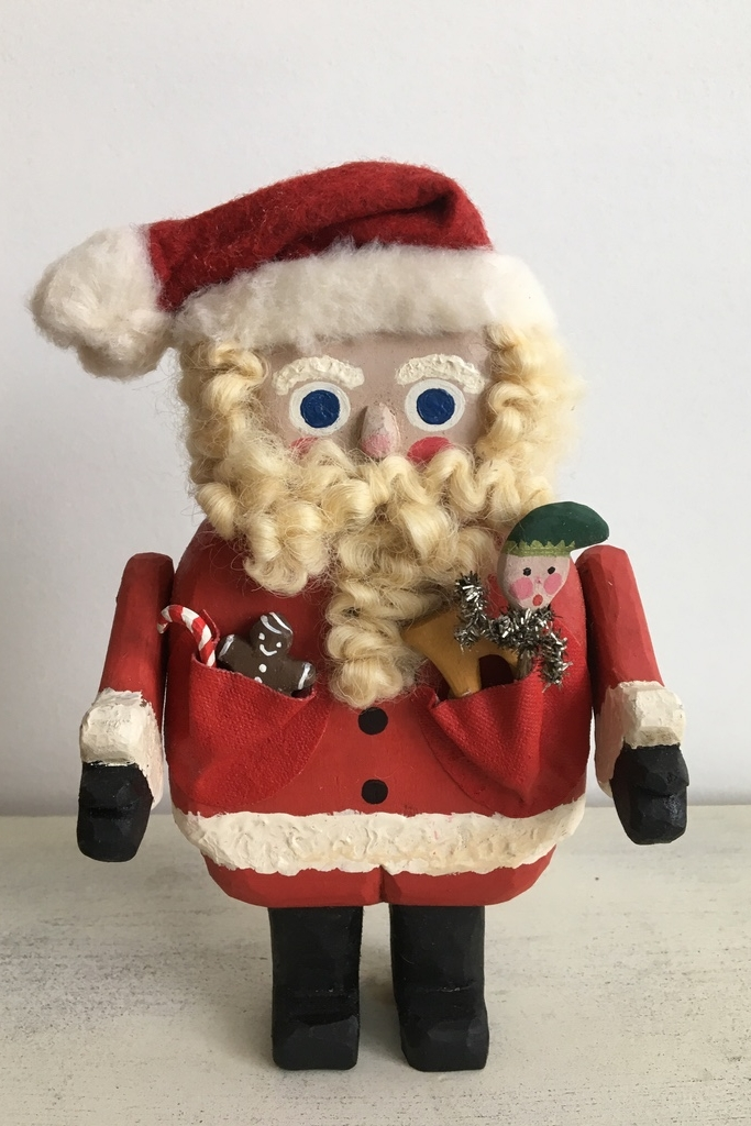 Kris Kringle  : To add this piece  to your collection, you can email us through the contact page.
