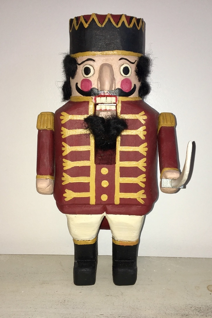 """Keeper of the Nutcrackers """"Cappy"""":  To add this piece  to your collection, you can email us through the contact page."""