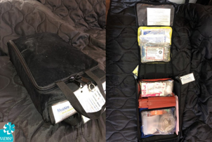 Current emergency Medical Kit that meets minimum FAA Part 121 EMK requirements