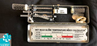 Monitoring Wet Bulb Globe Temperature provides a real-time assessment of heat risk