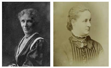 (Left) Dr. Elizabeth Sargent and (Right) Isabel Hayes Chapin Barrows. Image Credit:  https://www.aaojournal.org/article/S0161-6420(14)01093-8/fulltext
