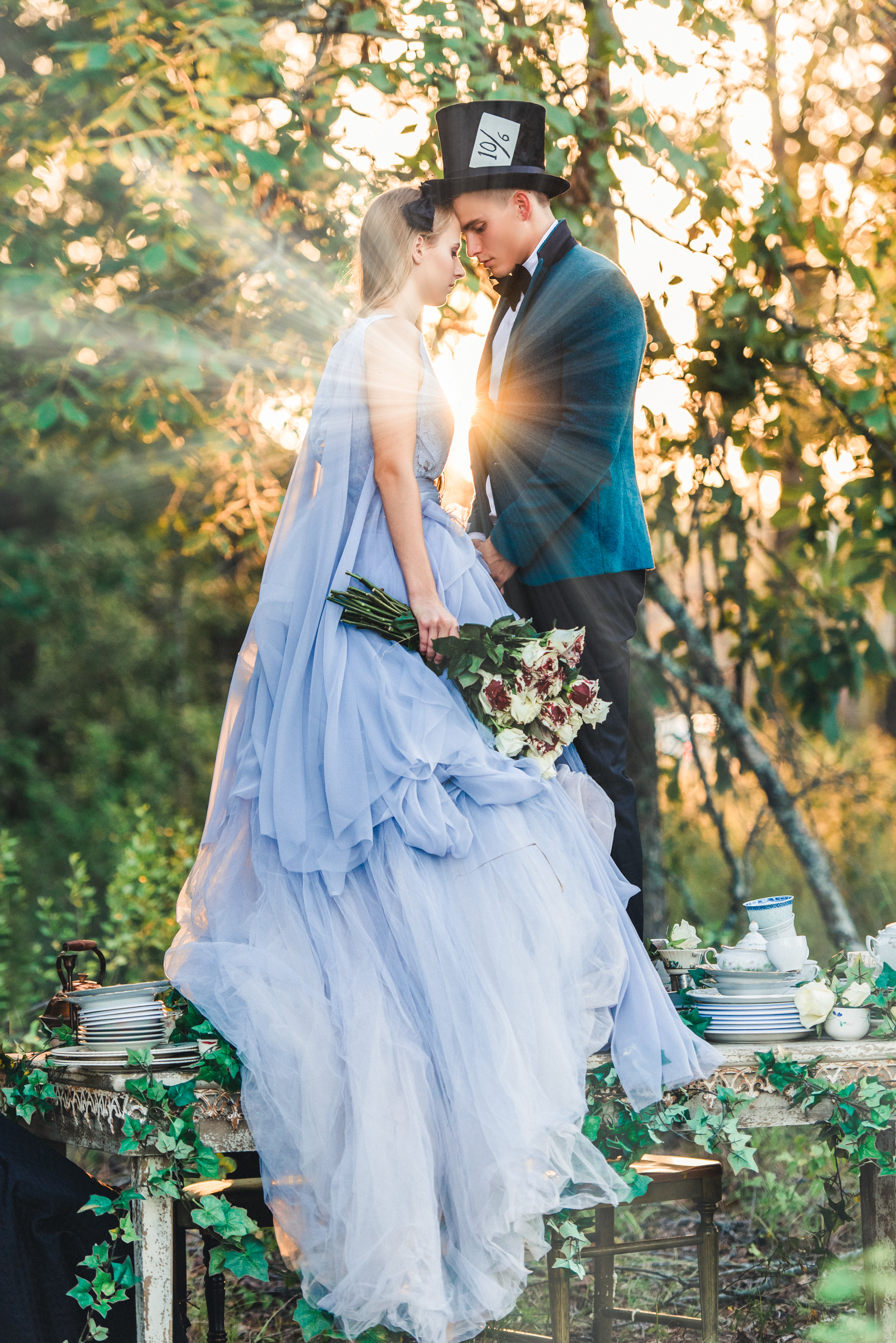 fantasy engagement photography by 1001 angles photography