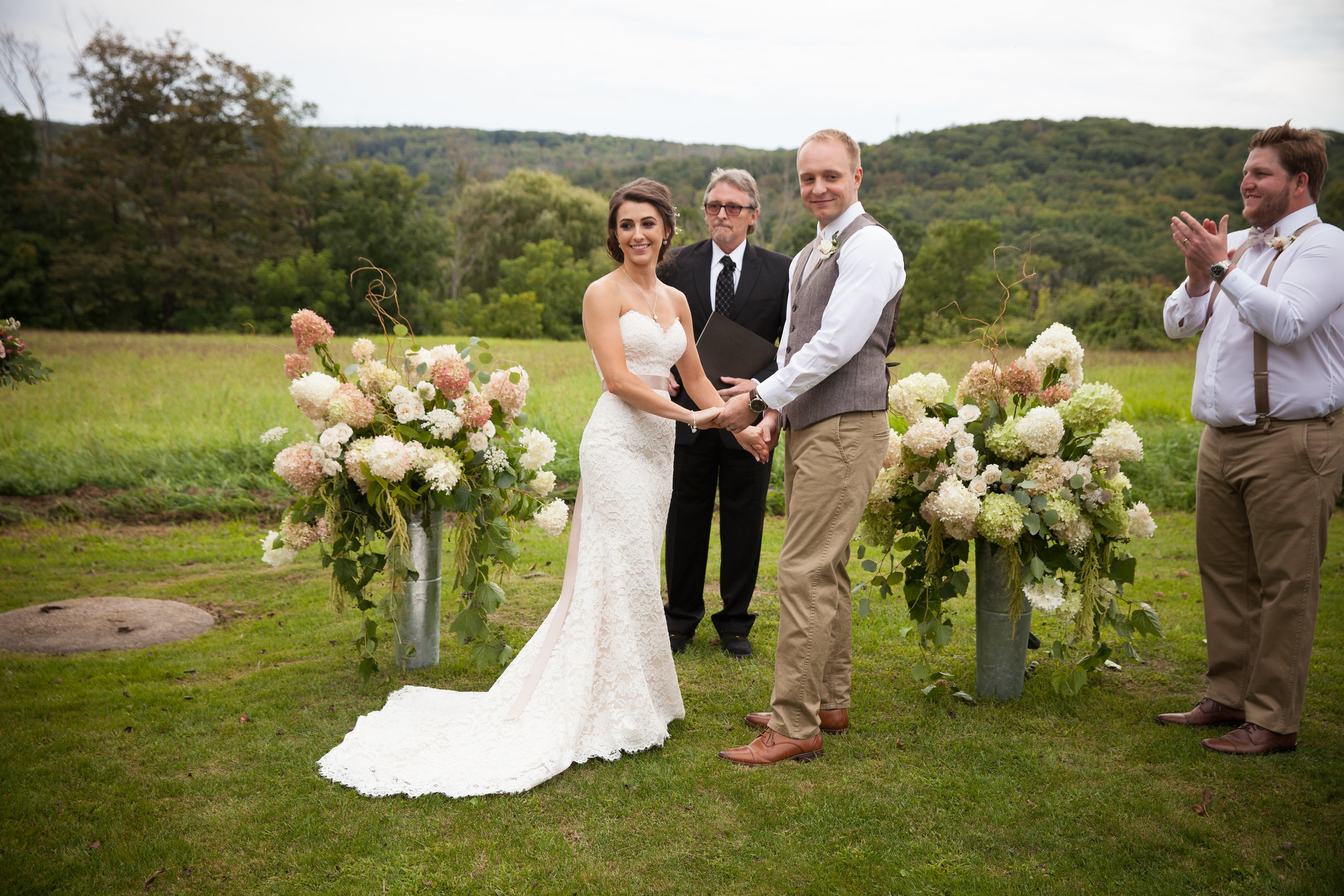 Ceremony back drop - Pearl Weddings & Events