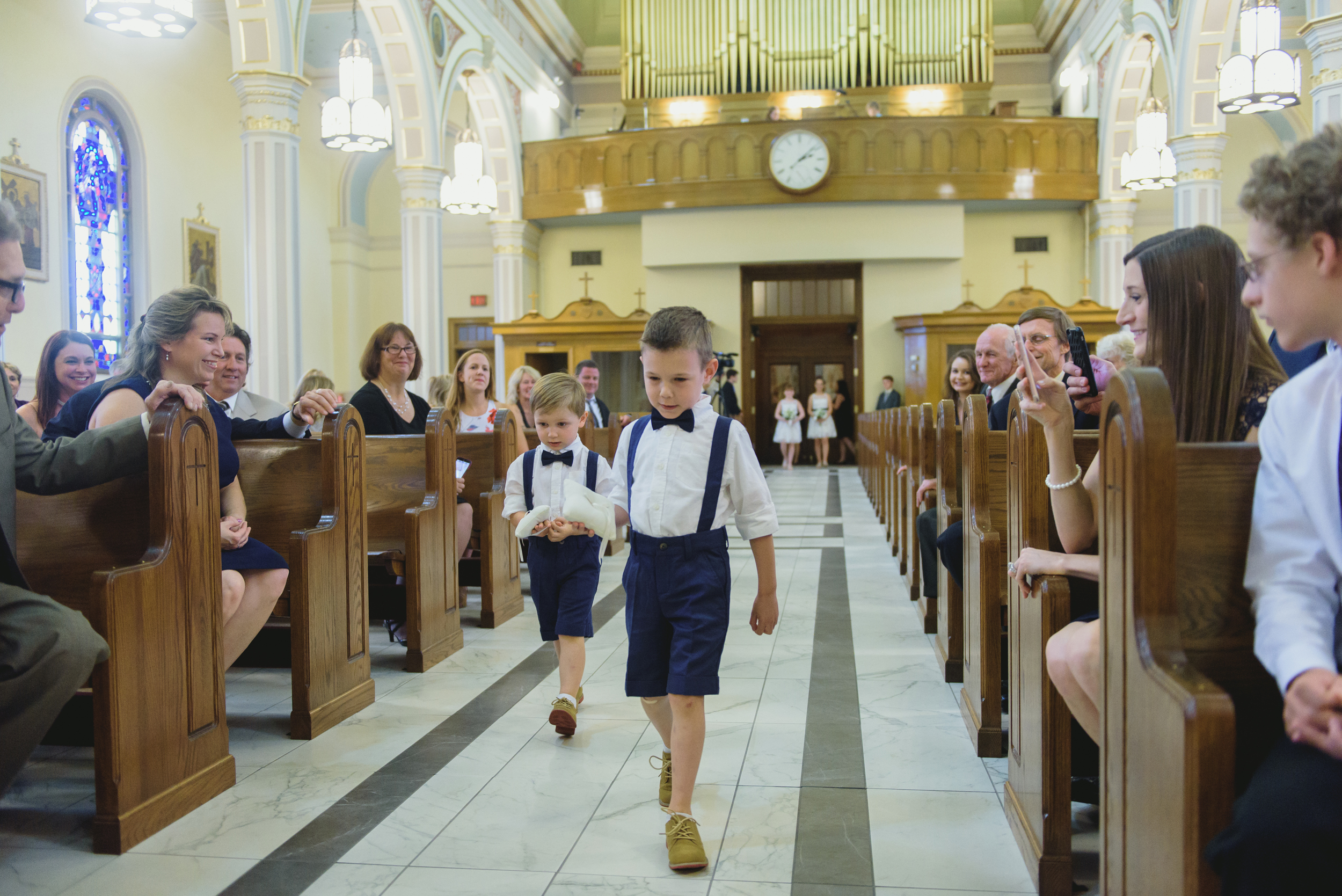 ring bearers - Pearl Weddings and Events