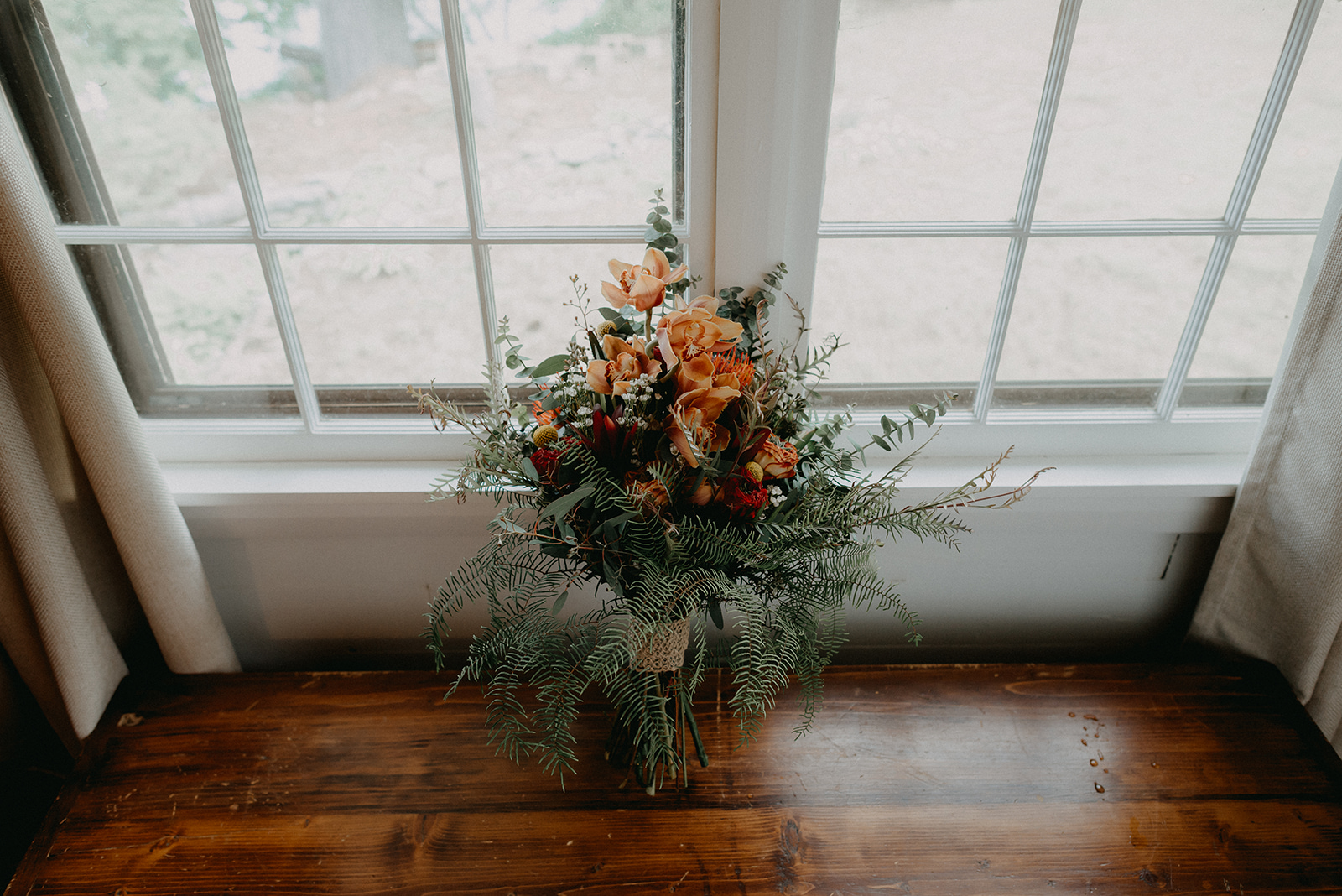 Bridal floral bouquet for a summer wedding in Massachusetts - Pearl Weddings & Events