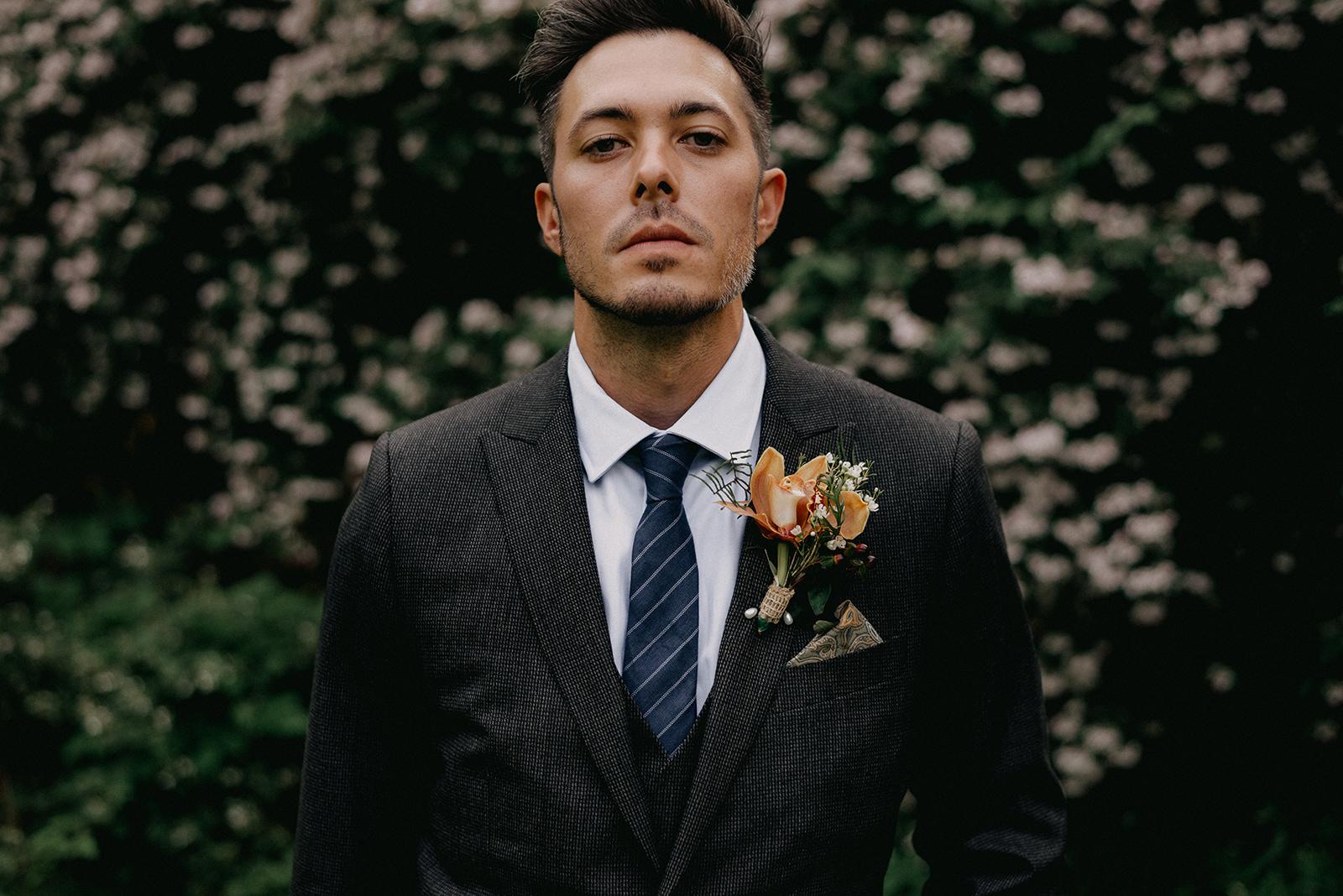 Groom photo - Pearl Weddings & Events