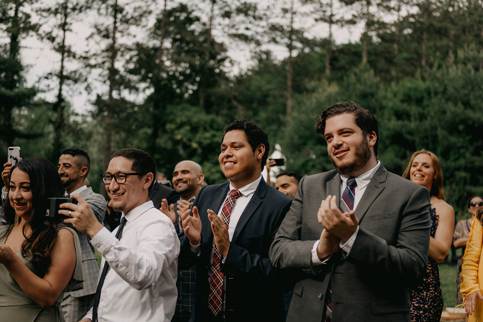 When your friends and family are there to support you on your wedding day! - Pearl Weddings & Events
