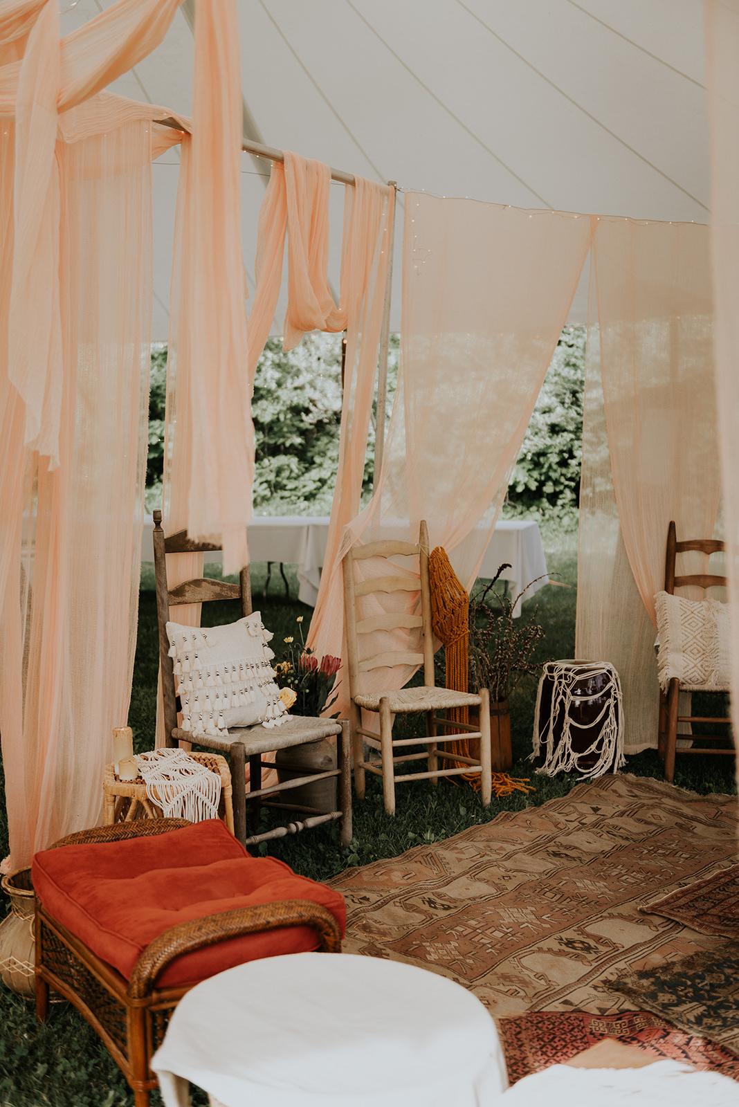 Hookah lounge at a wedding - Pearl Weddings & Events