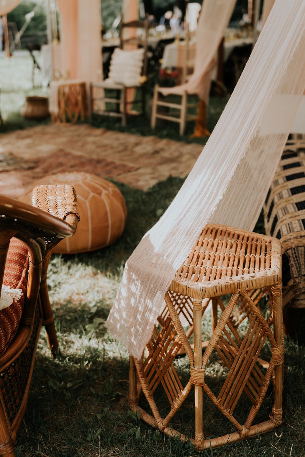 Hookah lounge at wedding - Pearl Weddings & Events