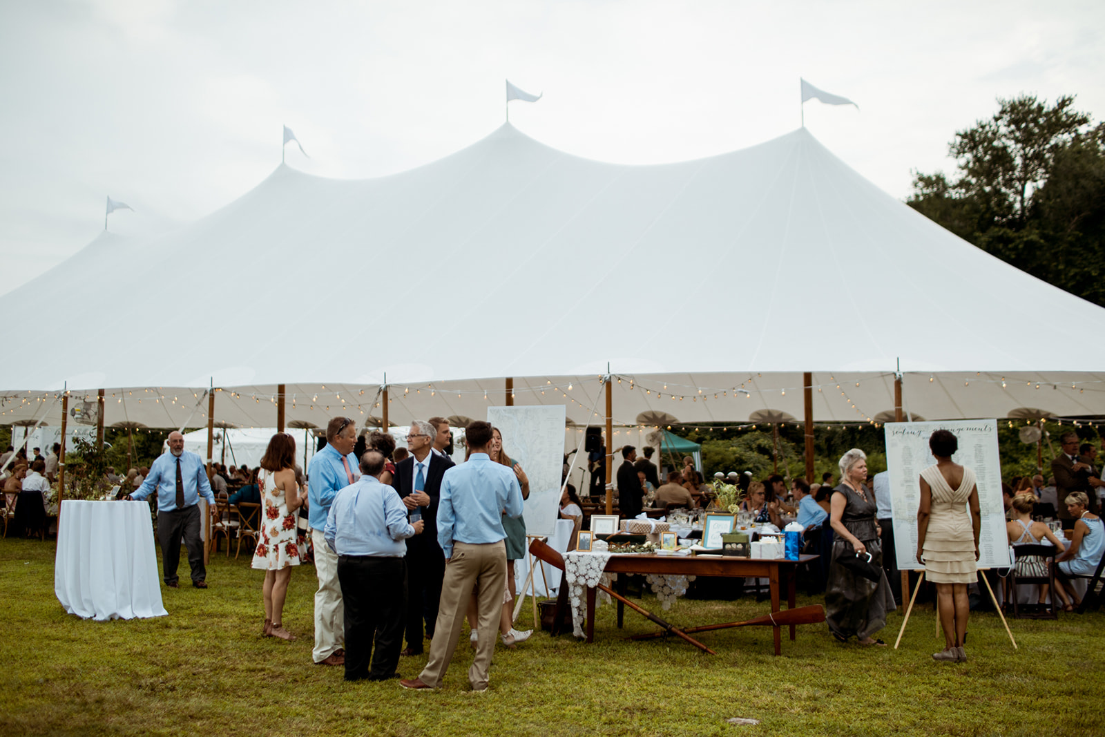Sperry Tented wedding in Chester, Connecticut - Pearl Weddings & Events