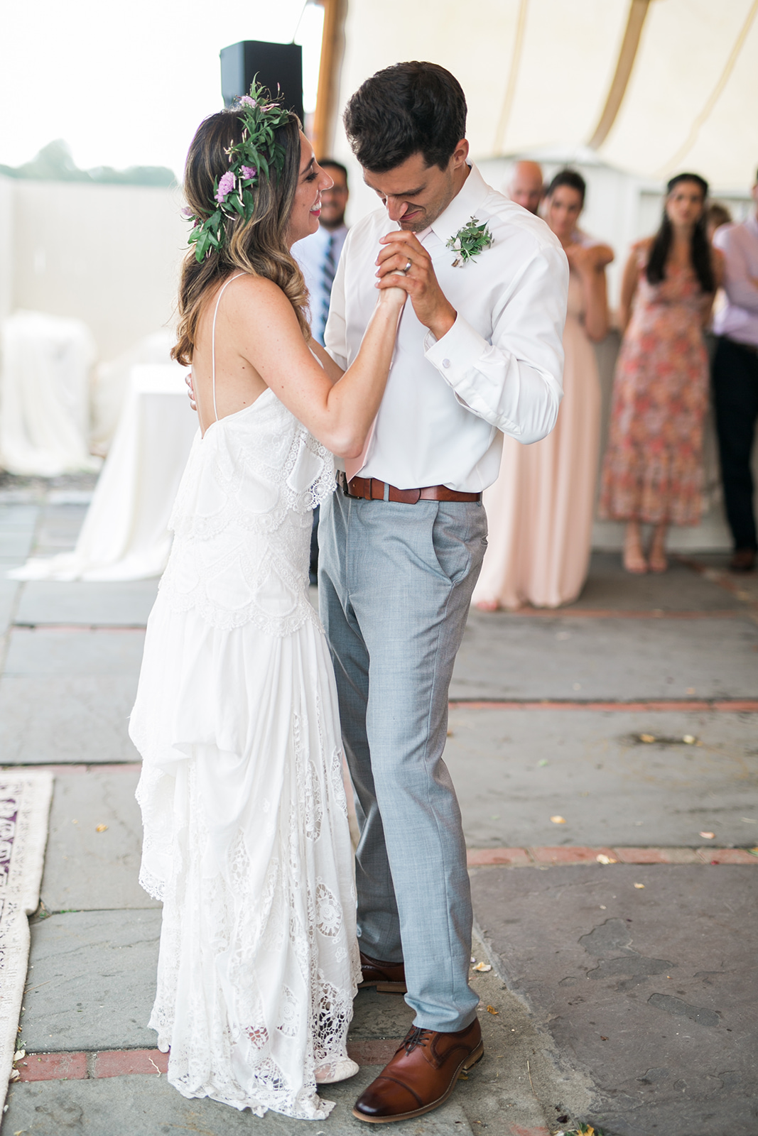 Outdoor tented wedding call for having a dance floor. Which one do you have or will you need? Read Pearl Weddings & Events Blog for more information. - Pearl Weddings & Events