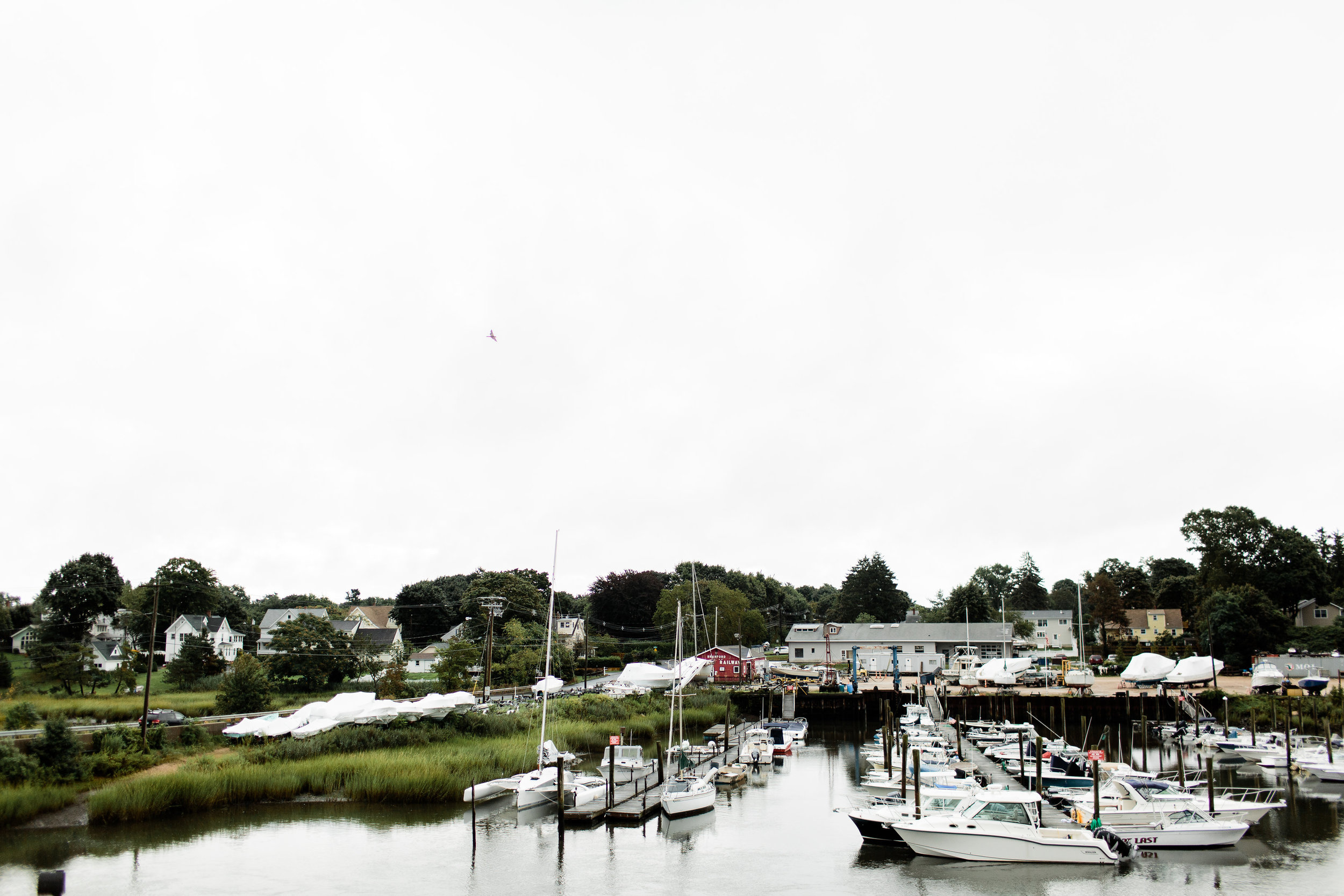 Boat yard at Stony Creek Brewery - Pearl Weddings & Events