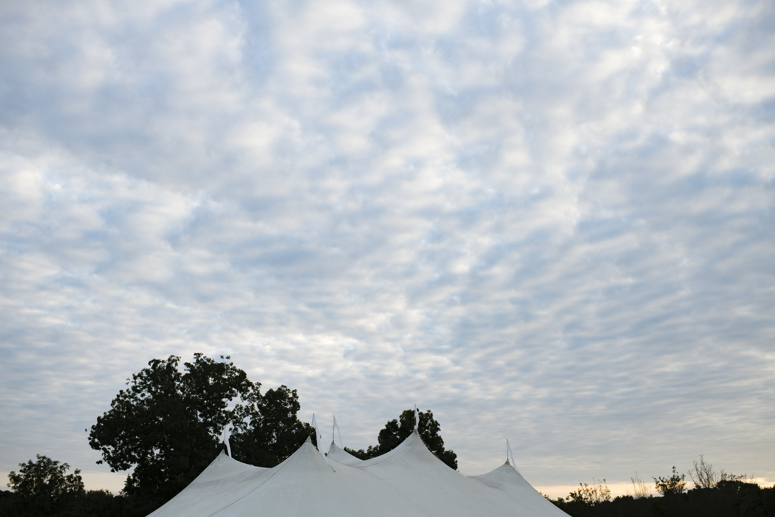 Outdoor tented wedding at Jonathan Edward Winery - Pearl Weddings & Events