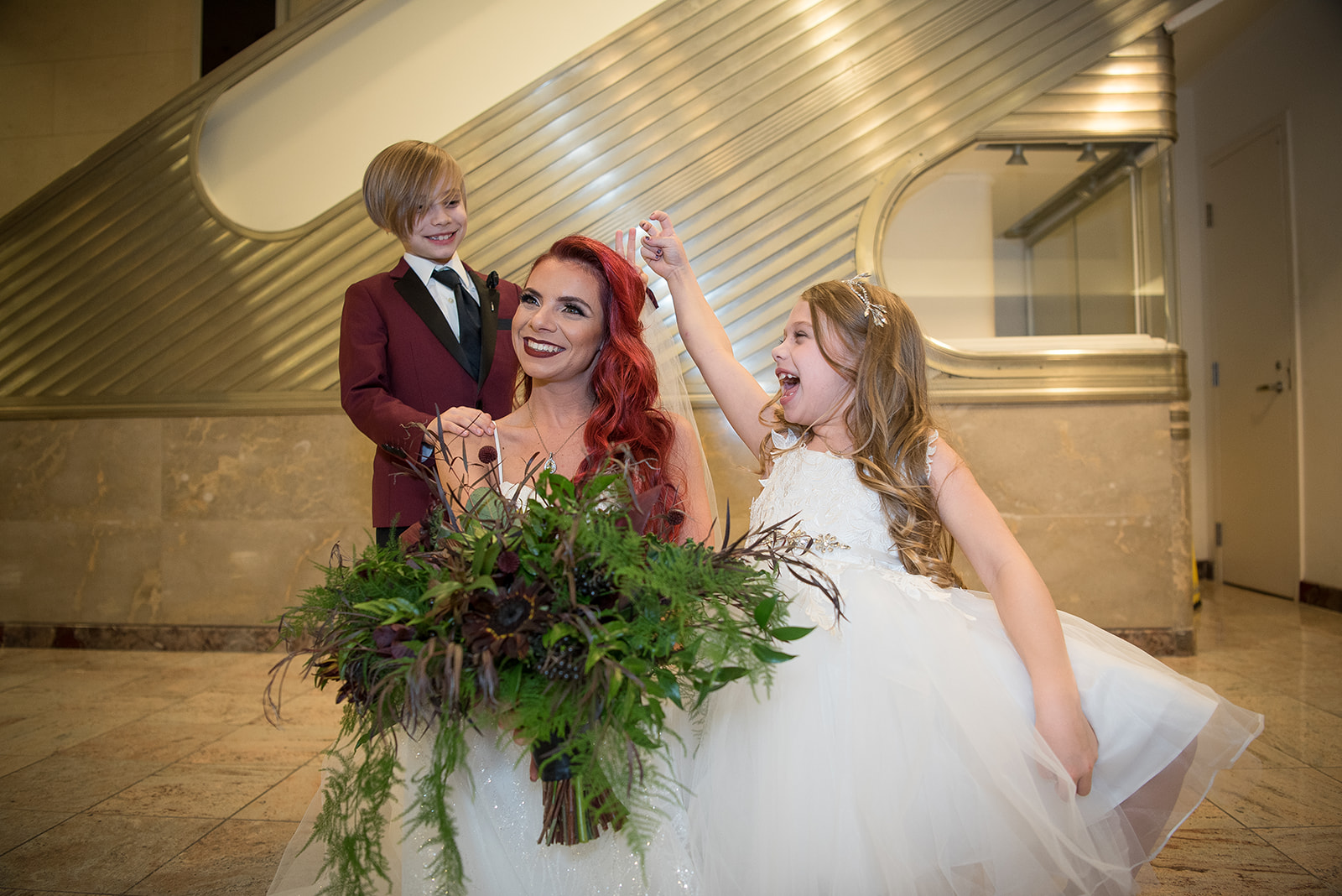 Include your kids on your wedding, it makes it way more fun! - Pearl Weddings & Events