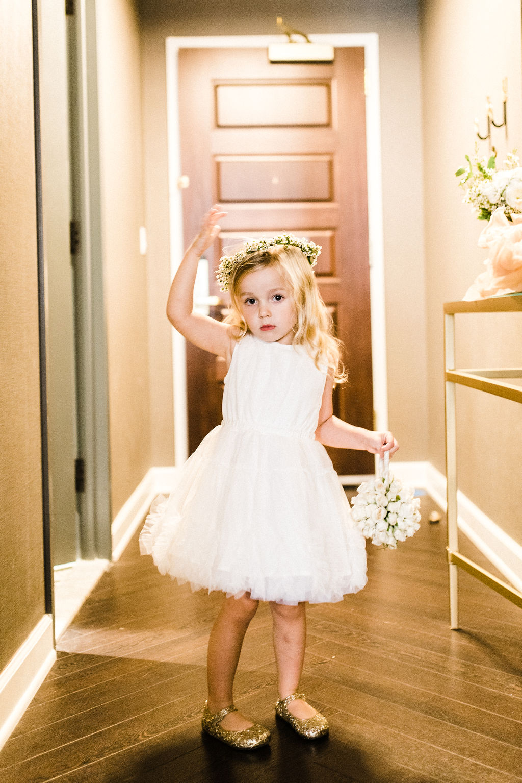 The cutest flower girl to ever exist - Pearl Weddings & Events