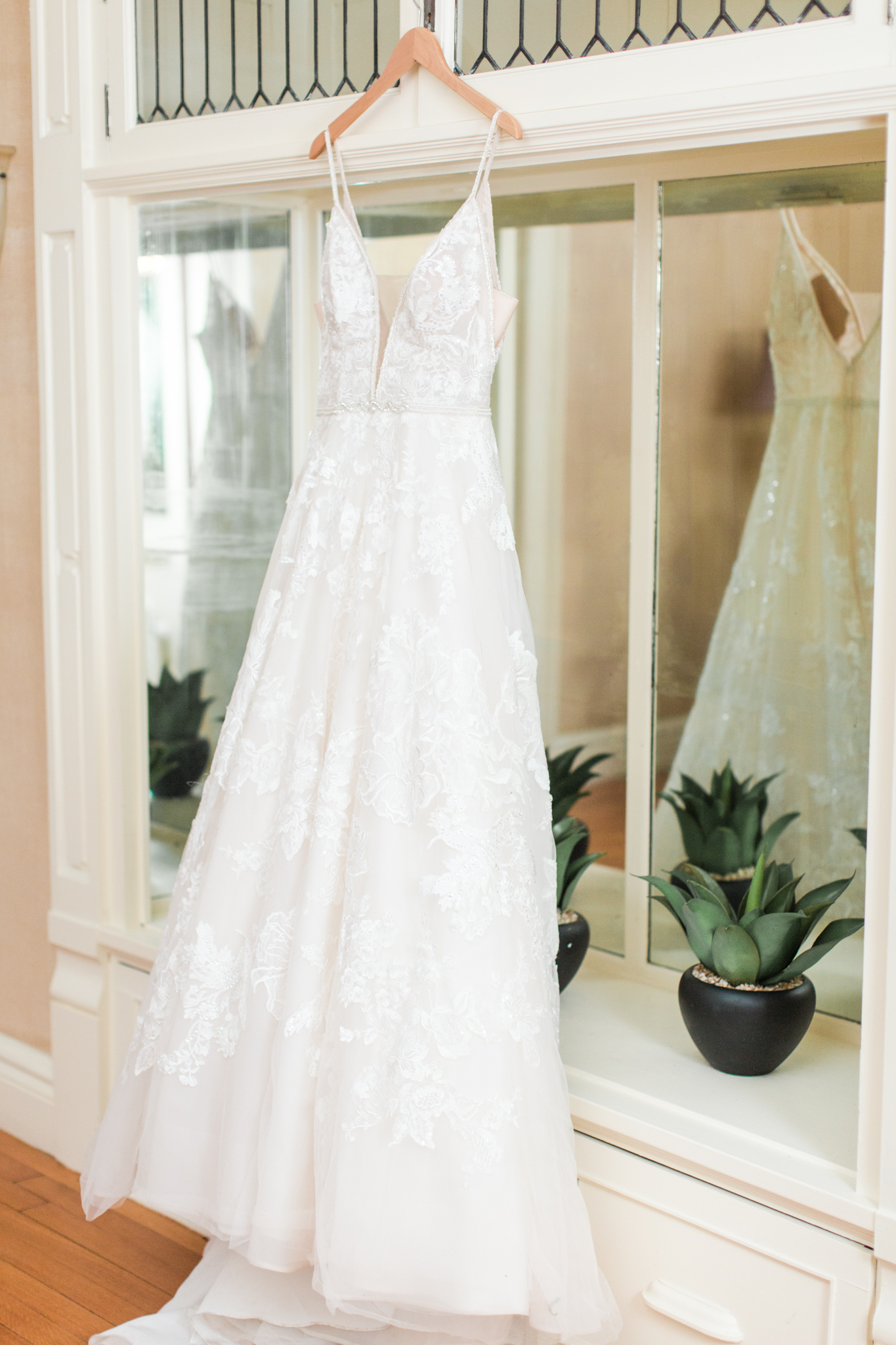 Beautiful A-Line wedding dress from Ruby Bridal Boutique - Pearl Weddings & Events