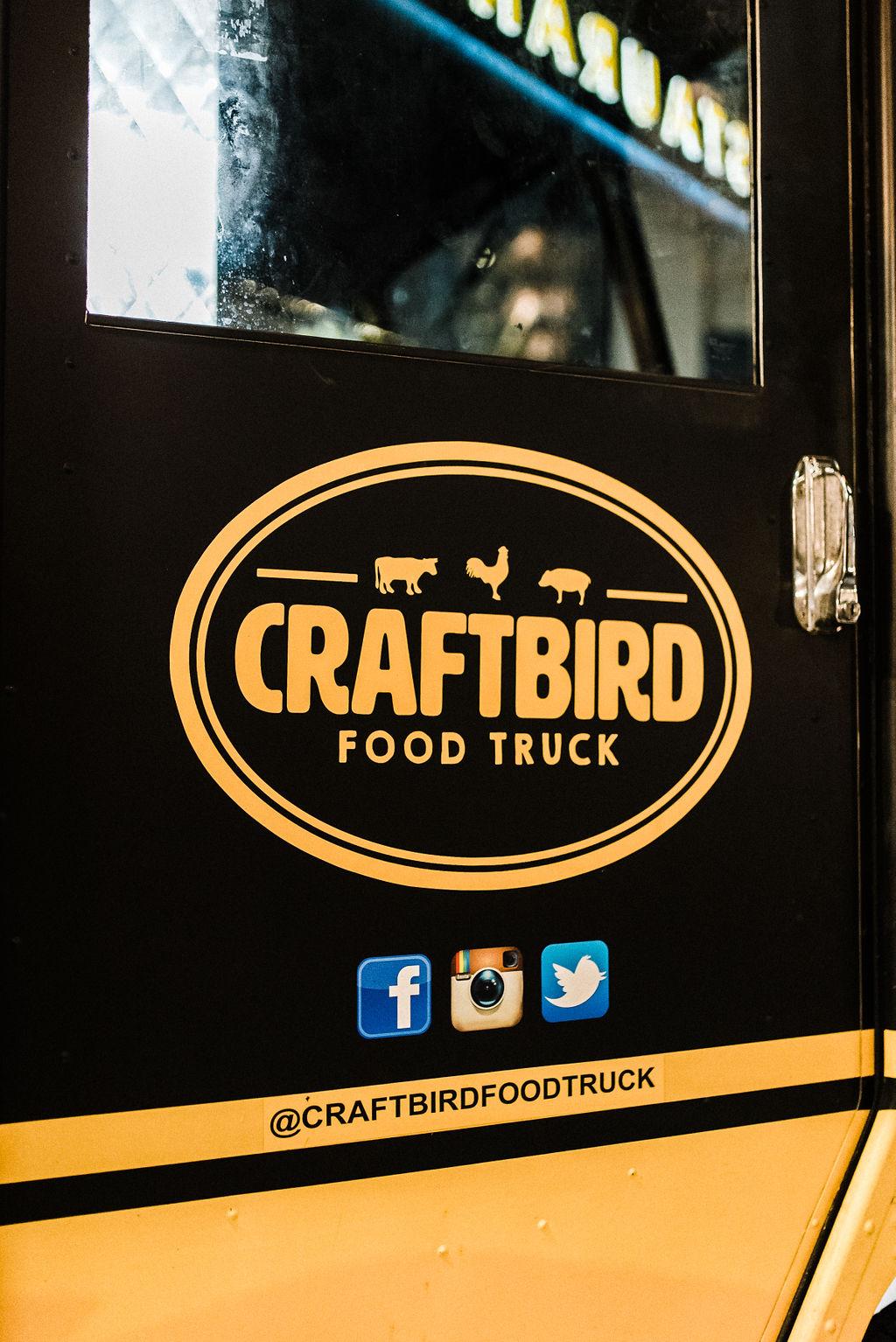 Craft Bird Food Truck for late night wedding snacks in Hartford, CT - Pearl Weddings & Events