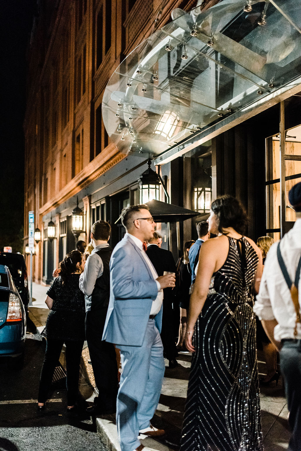 Late Night Food Truck at Melanie & Tyler Anderson's Wedding at The Goodwin Hotel - Pearl Weddings & Events