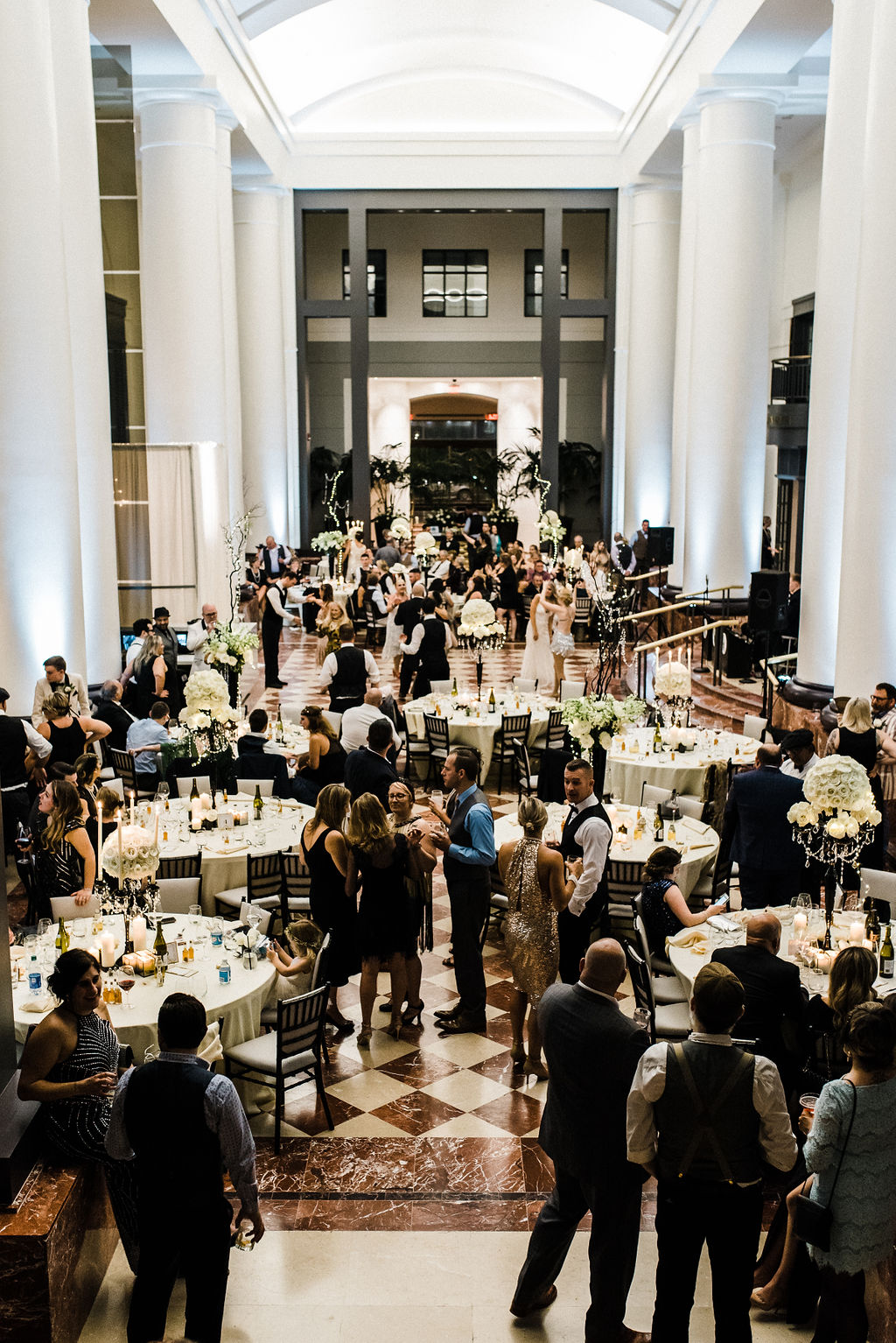 Great gatsby themed wedding at The Goodwin Hotel in Hartford, CT - Pearl Weddings & Events