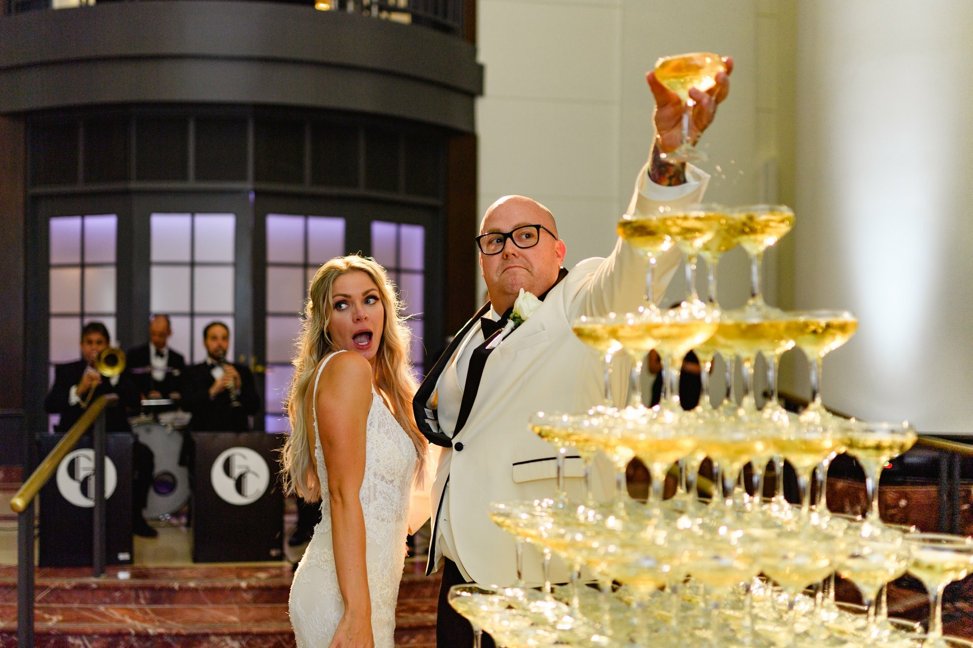 Melanie & Chef Tyler Anderson's Great Gatsby Themed Wedding Blog - Pearl Weddings & Events