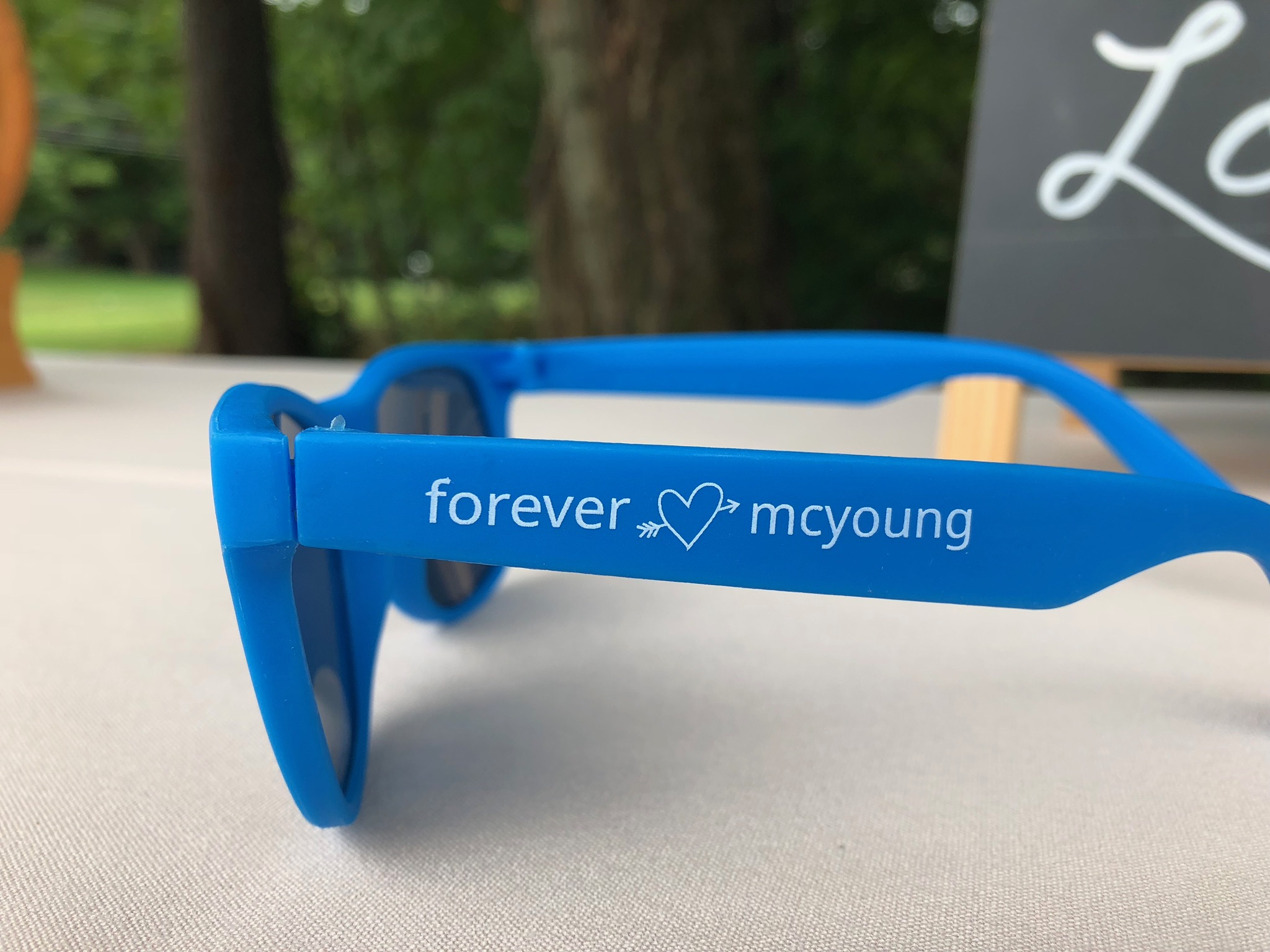 Wedding Favors and Sunglasses for Guests - Pearl Weddings & Events