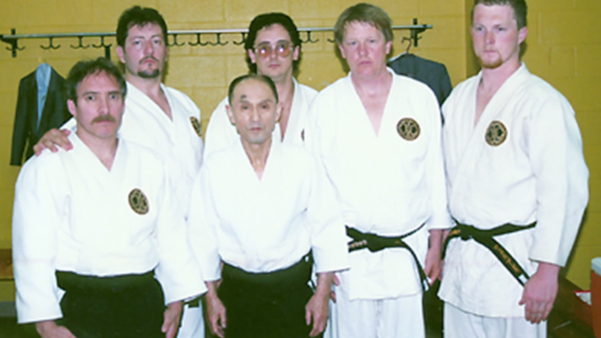 Goldberg Sensei with Gozo Shioda, founder of Yoshinkan Aikido.