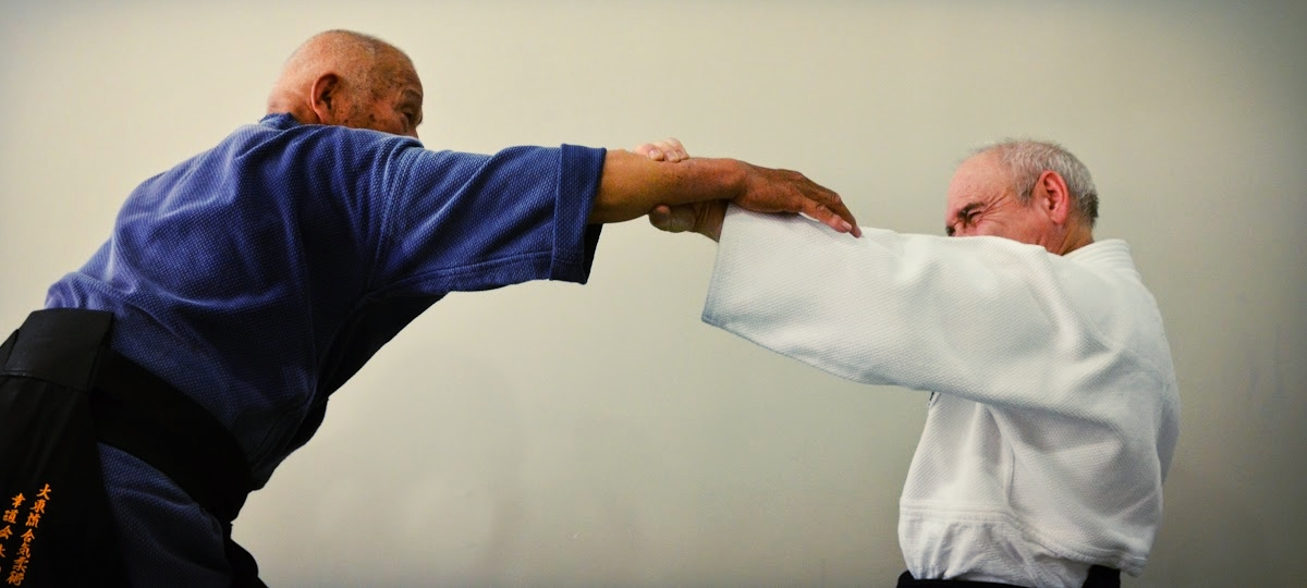 Kiyama Shihan training with Goldberg Sensei