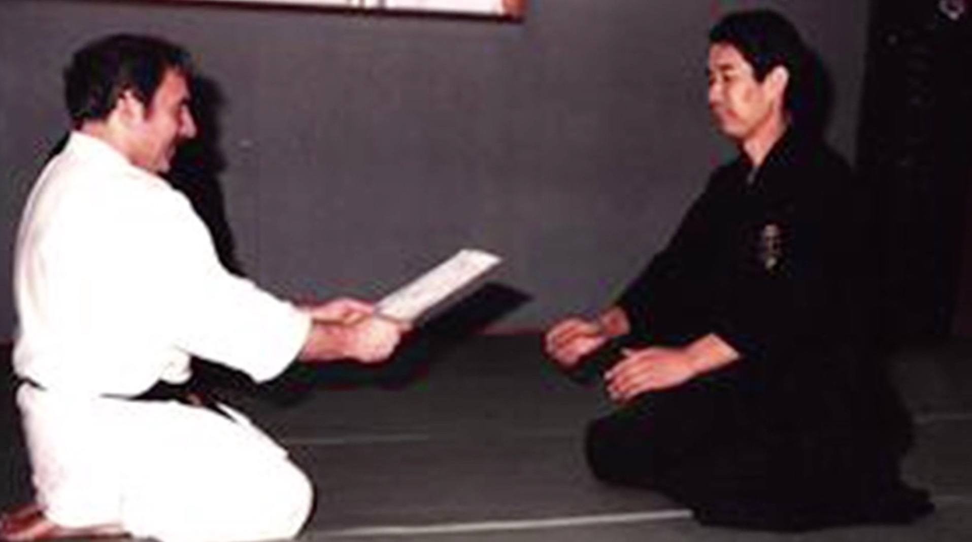 Goldberg Sensei with Yusuke Inoue Menkyo Kaiden