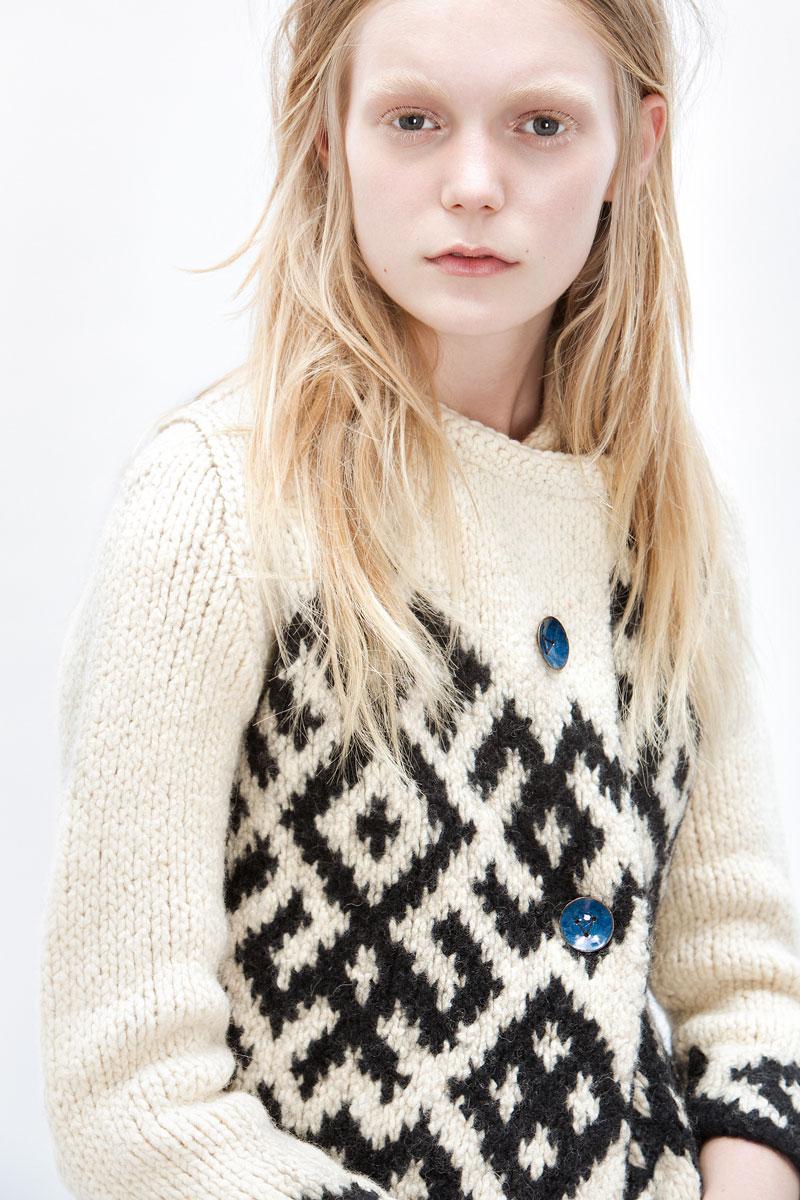 Elena Pirogova-Mares - NBO Knitwear, CSM graduation collection