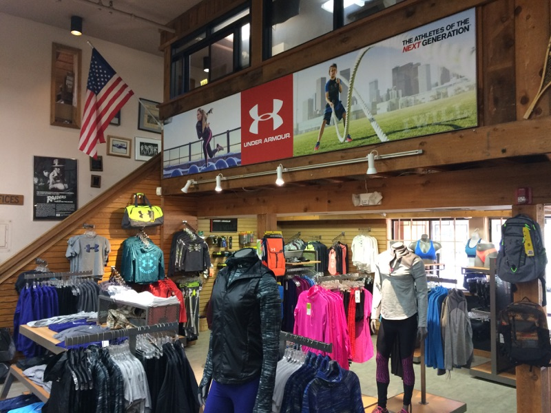 Princeton Sports shop indoor signage