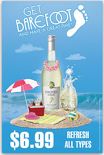 Barefoot Poster BFF001
