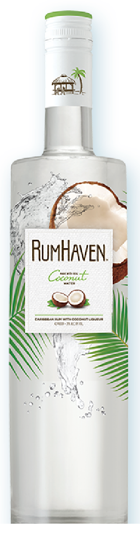 """Rum Haven Standee 60""""x15"""""""
