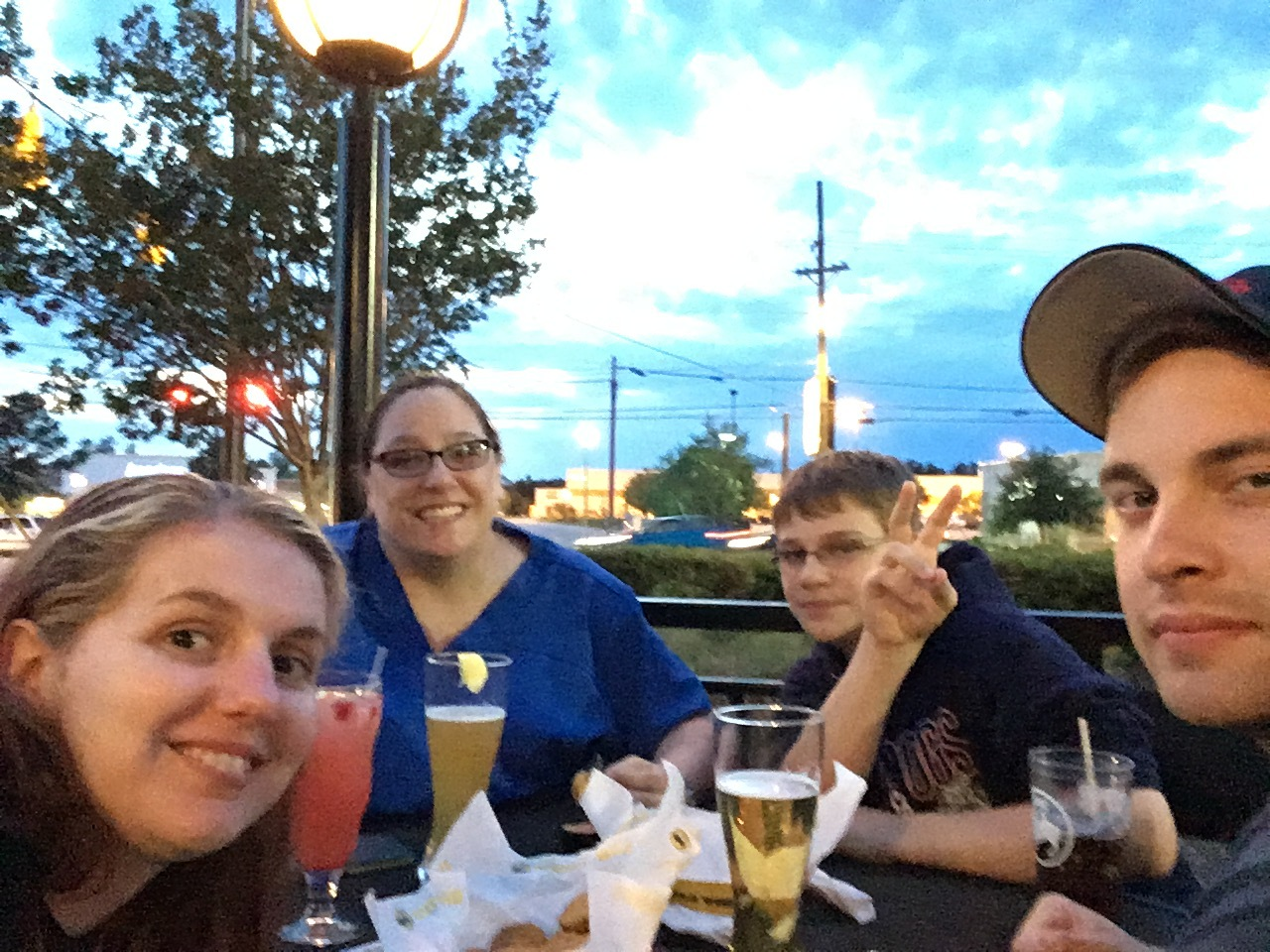 2012 || The ex-roommate and her kid asked us to join them at BWW's for dinner. Since we hadn't hung out in a while, we said sure. It was nice to catch up with them and see how things are going now that we no longer live together.