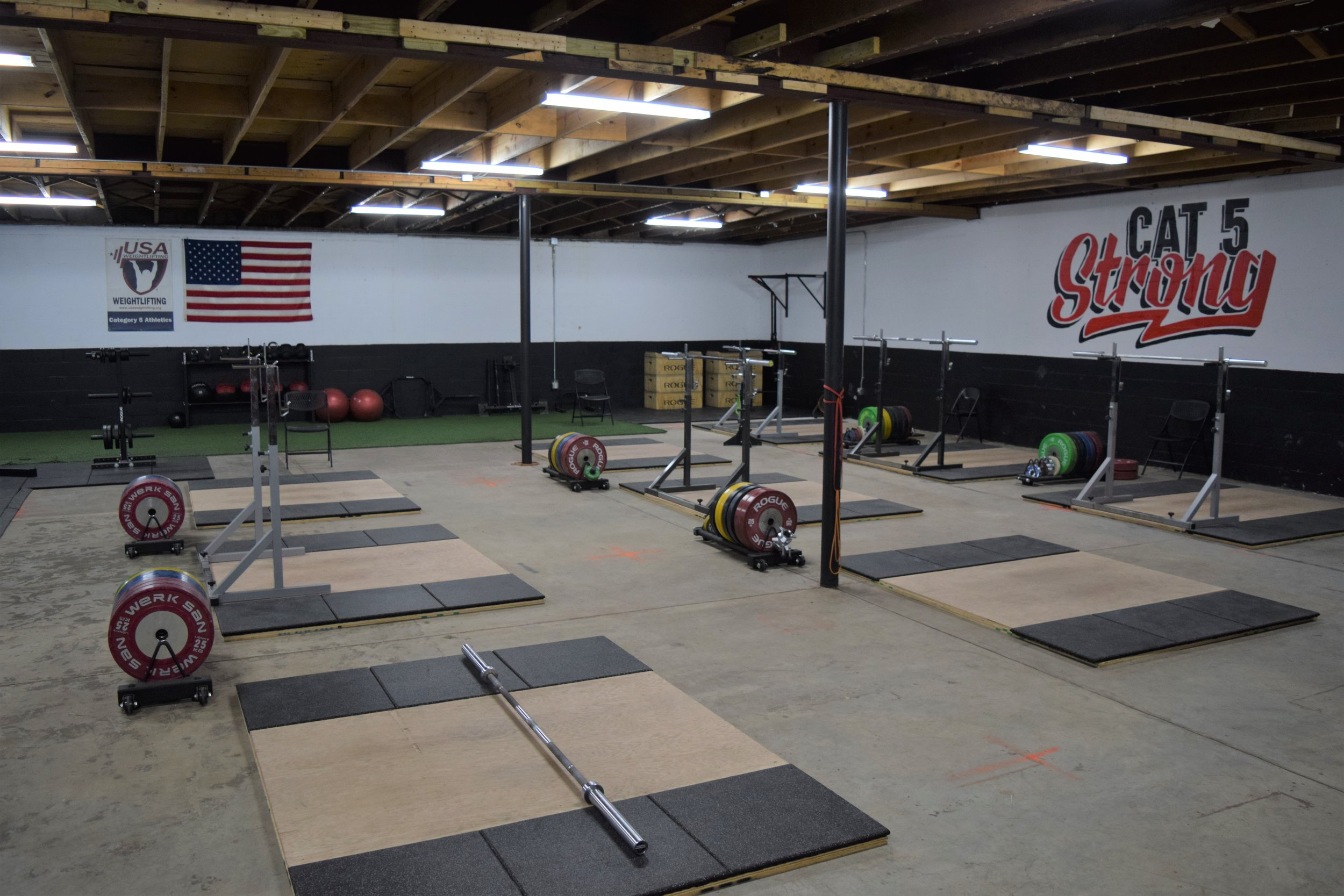 Olympic Weightlifting at Cat 5