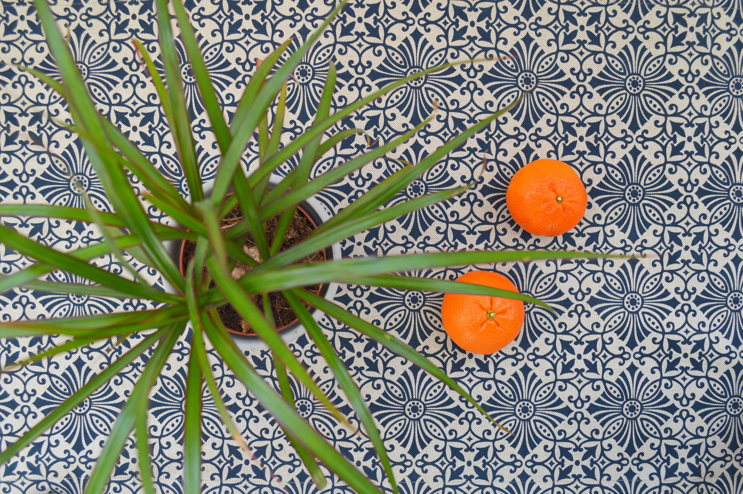 Floral Tile Table runner detail.jpg