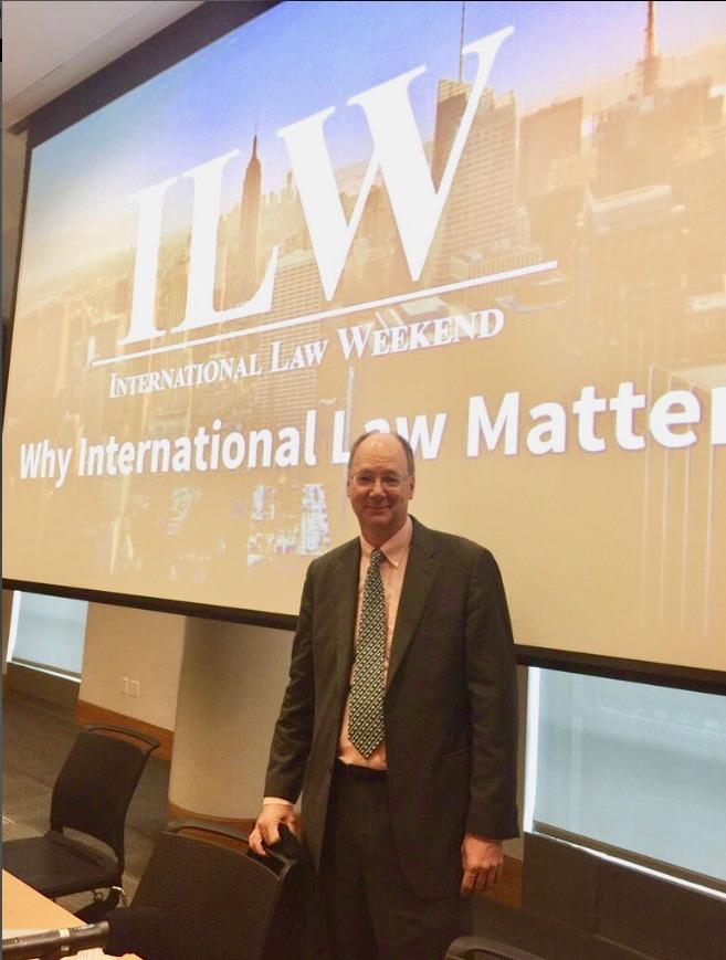 International Law Weekend 2018