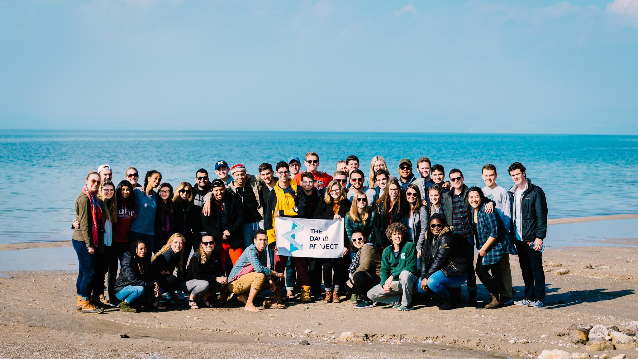 ~40 very Type-A crazy campus leaders visiting the Dead Sea