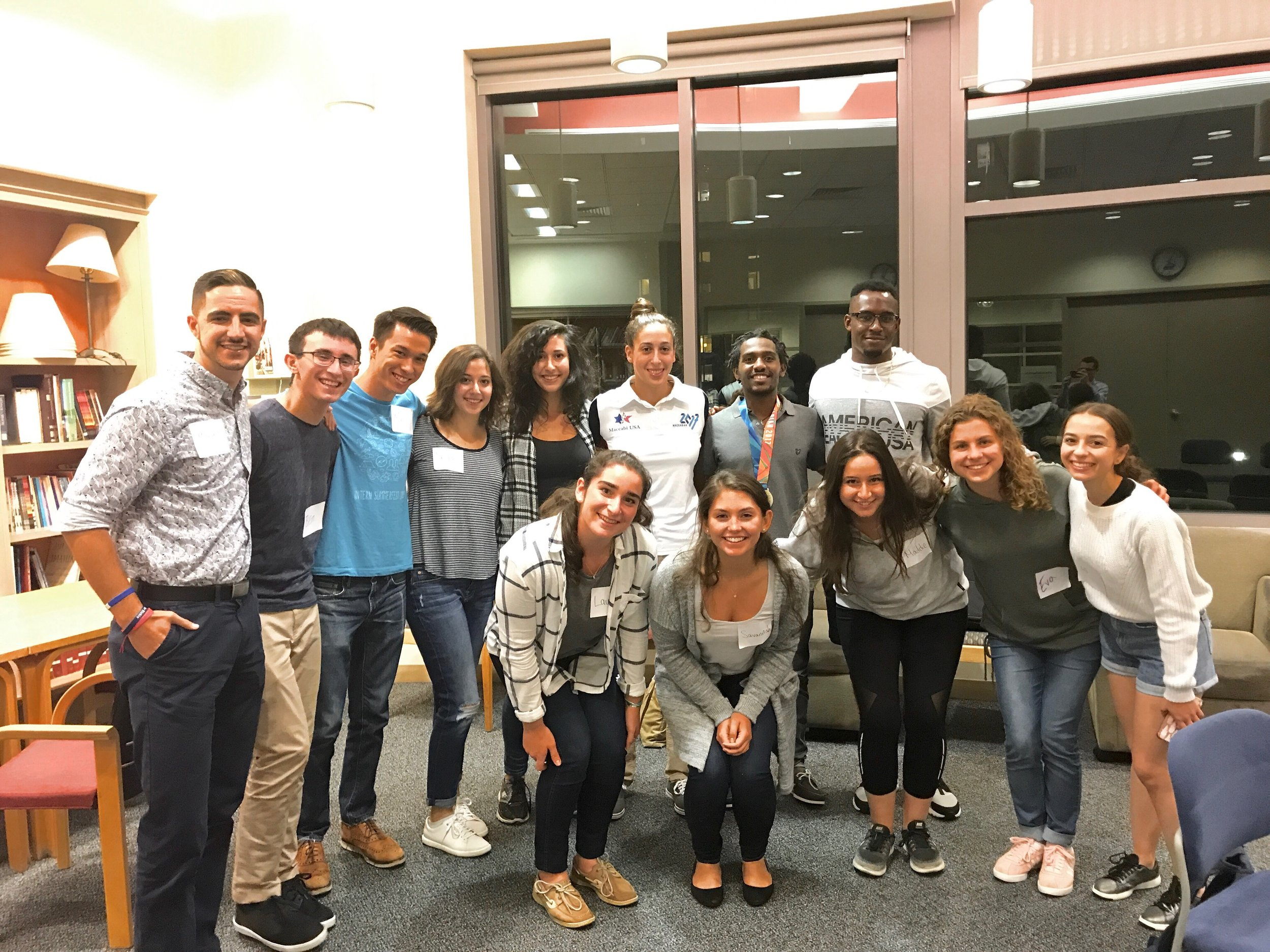 Students at the University of Pennsylvania held their first team meeting as part of a new initiative known as the Israel Learning Lab.