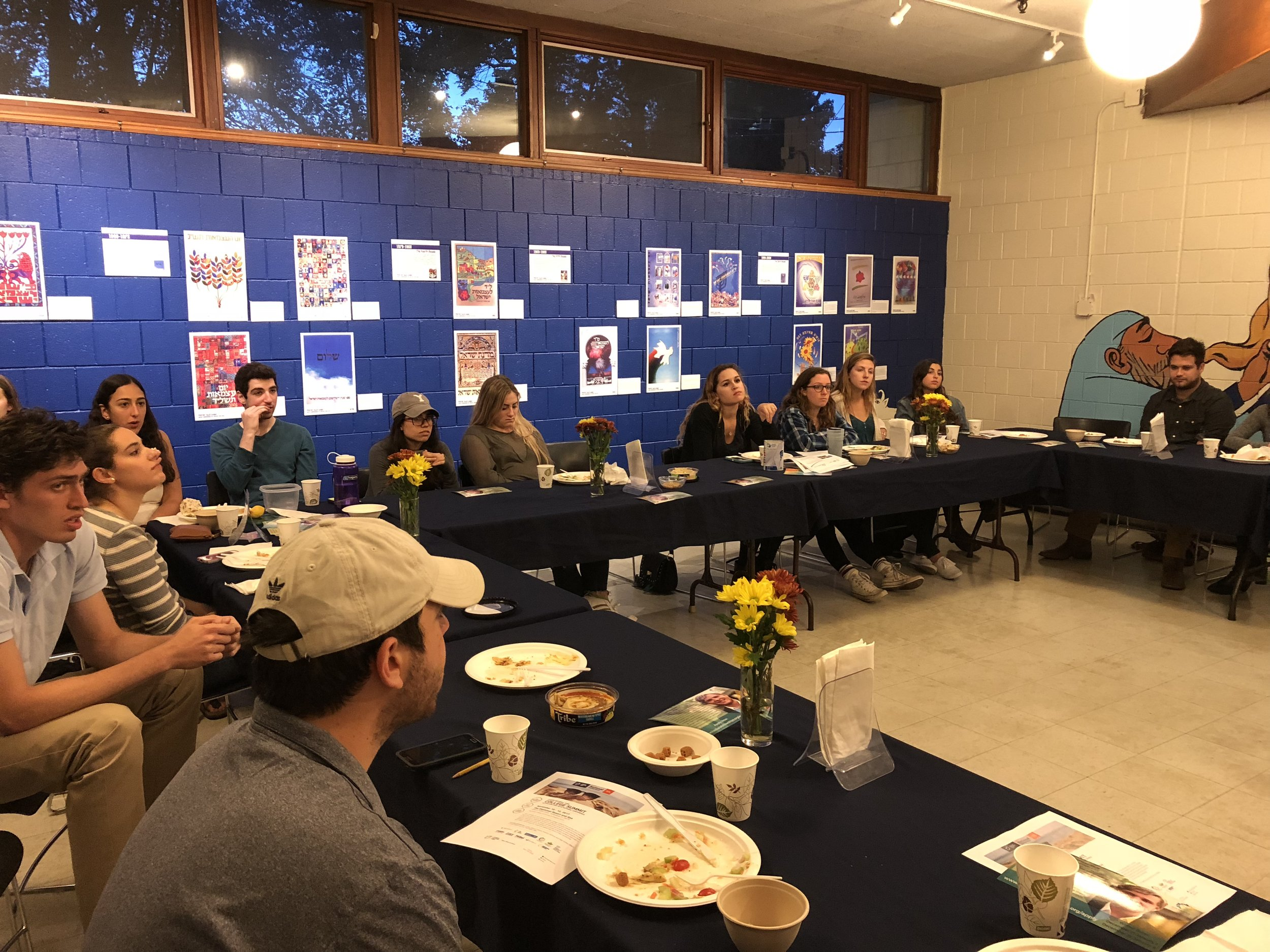 Students gathered at UMASS - Amherst for a Leadership Dinner with representatives from different communities and organizations on campus.
