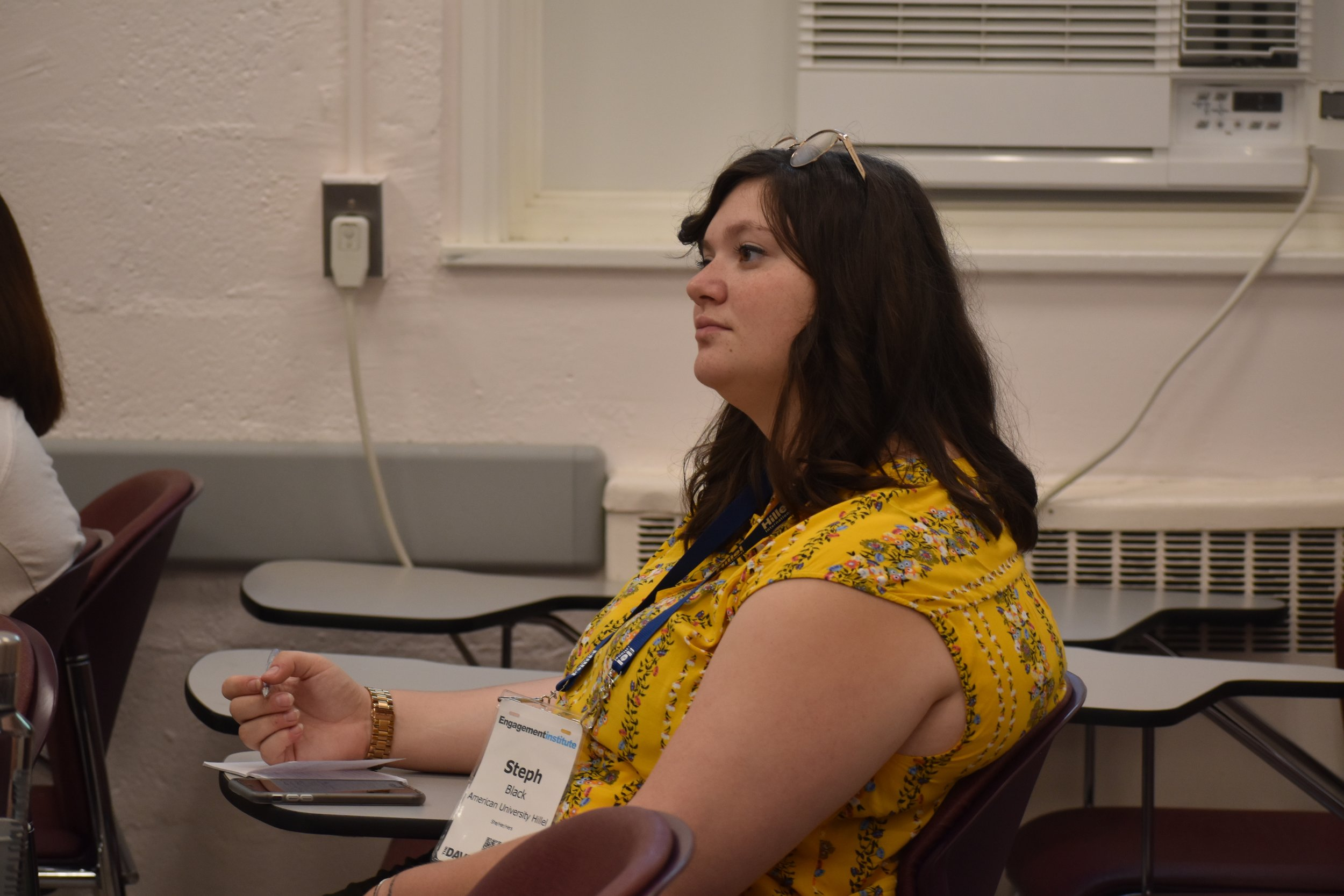 Day 1 of the conference discussed the history of Israel, and providing context to the larger discussion on campus.