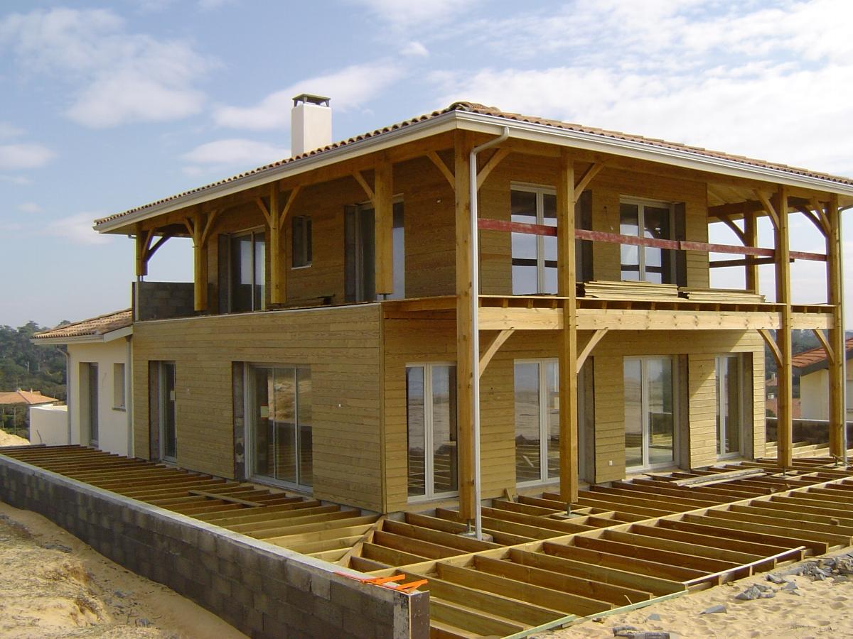 Construction Ossature Bois Landes Lalanne