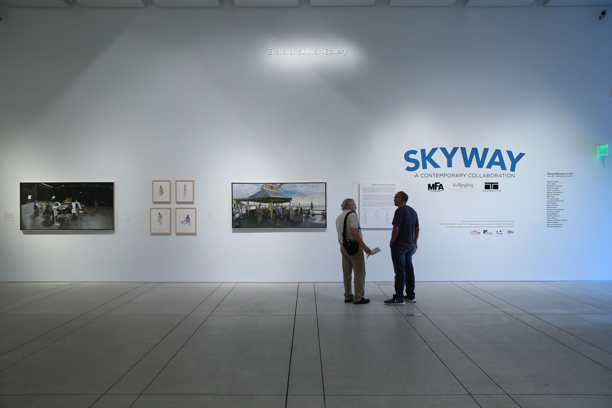Skyway 2017 , Installation View.