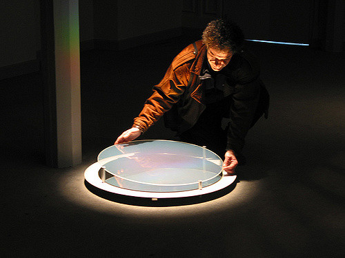 Philippe Boissonnet , Installation «Efflorescence», à la Chapelle du Bon Pasteur, Montréal, 2003