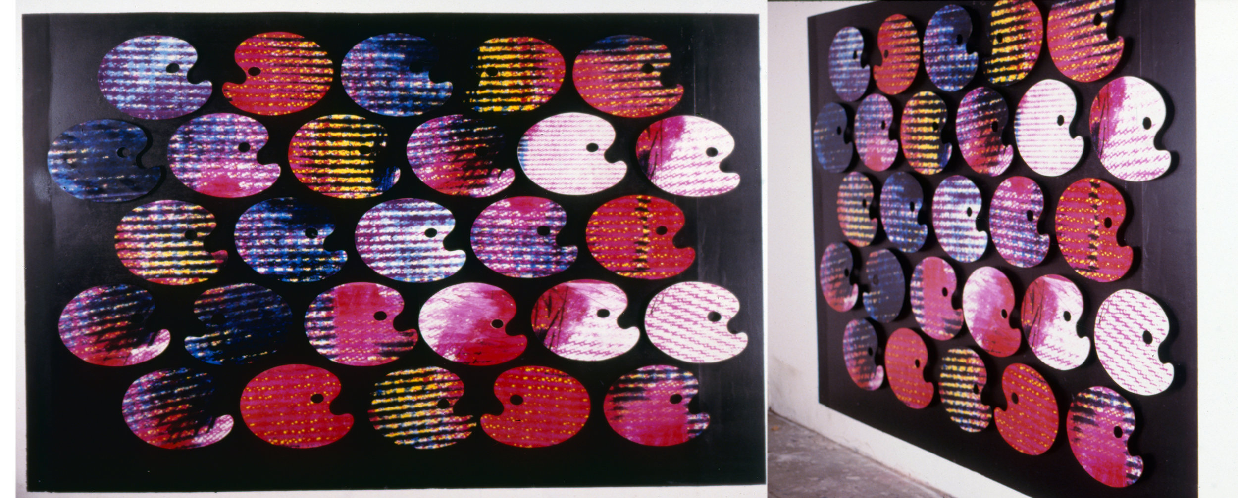 """""""Palette électronique"""", 1990  Éd. 1/1"""