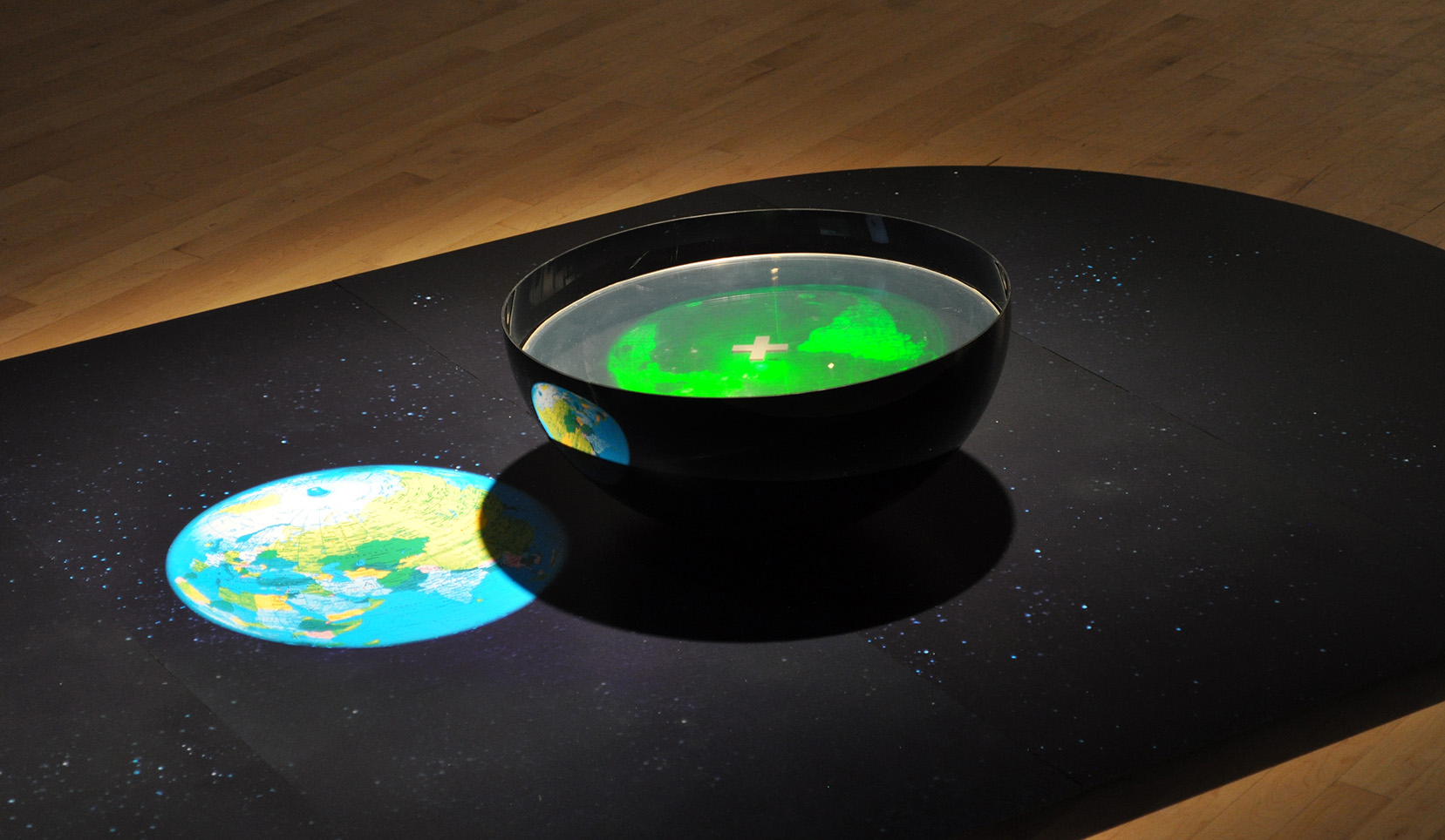 """Un monde d'incertitude"", 2008 (hologram - Plus)"